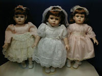 Three 18 Inch Dolls